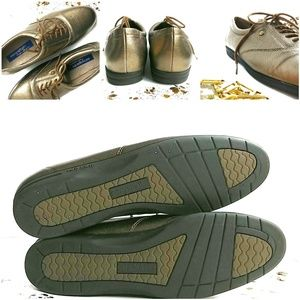 Easy Spirit Shoes - Easy Spirit Anti Gravity Gold Lace Up Shoes